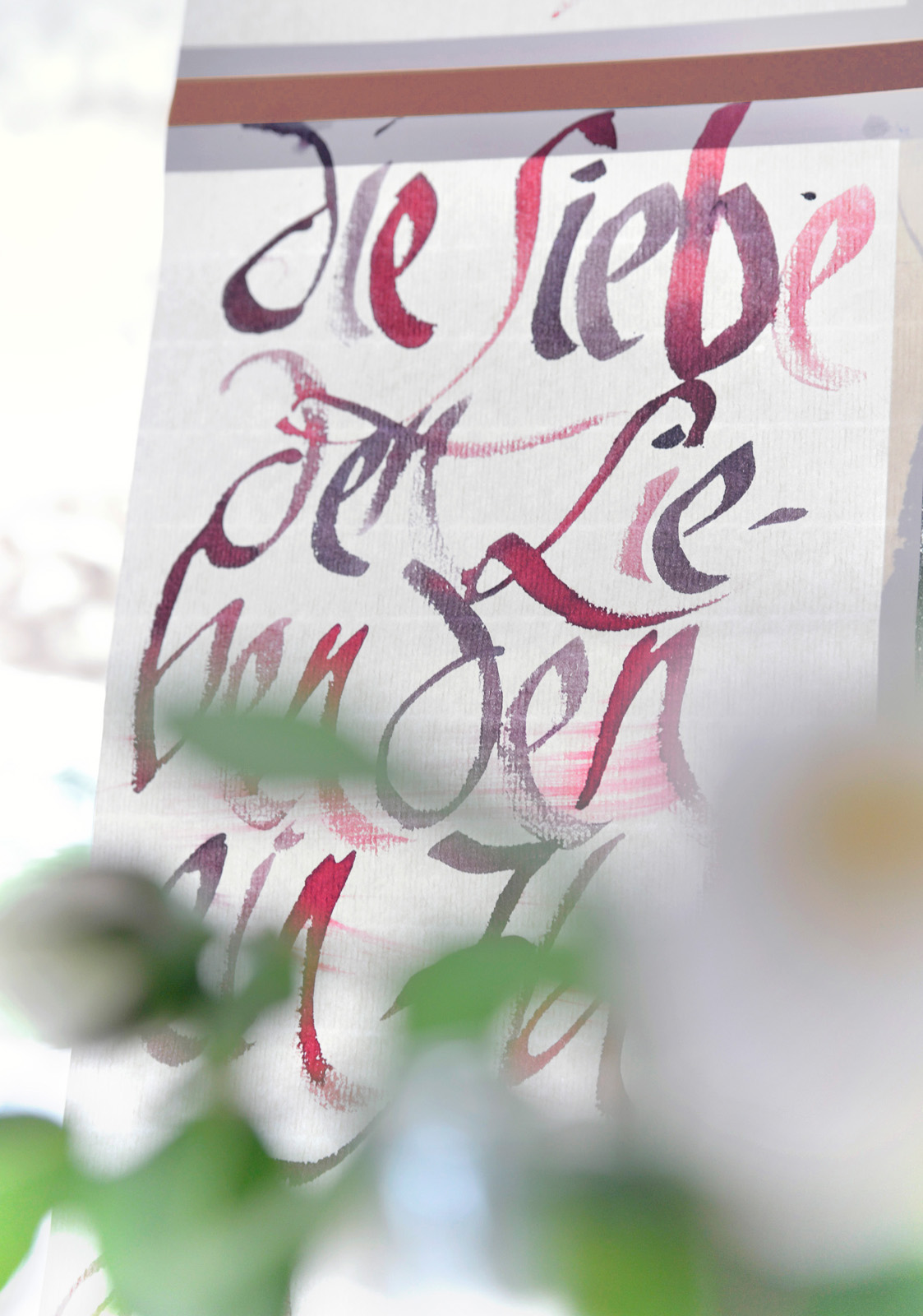 Kalligraphie Fahne