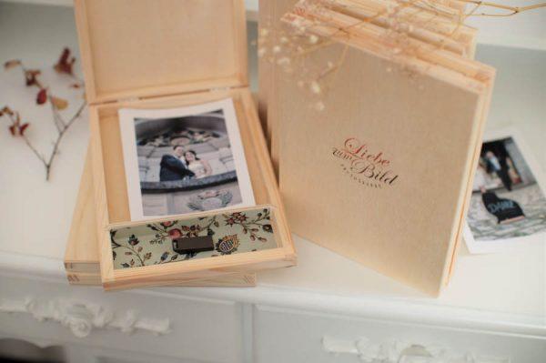 Holzschatulle Hochzeitsfotos mit Michael Margos